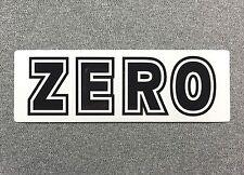 ZERO BOLD Skateboard Sticker LARGE 6in si
