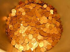 20 LBS Copper Bullion Pennies 1959-1982 US Cents by the Pound W/ Wheat Backs &..