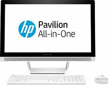 """HP Pavilion 24-b250na 24"""" All-in-One PC Core i5-7400T 8GB 1TB Win 10 Z7B77EA"""