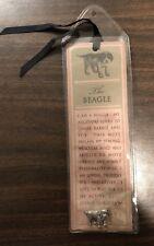 Beagle Dog Bookmark Pin Pinback