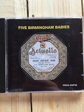 Heart Breakin' Baby by Five Birmingham Babies (CD, Sep-2005, Frog)