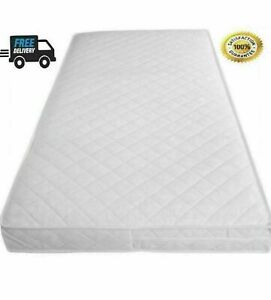 Soft Cushy Cot Bed Mattress 160 x 80 / 160x70 (24/48 Hour Delivery)** Made in UK