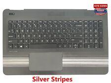 NEW HP Pavilion 15-AU 15-AW Palmrest Keyboard & Touchpad NON-Backlit 856028-001