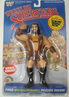 LJN WWF WRESTLING SUPERSTARS HERCULES HERNANDEZ MOC *EXCELLENT CONDITION L@@K*