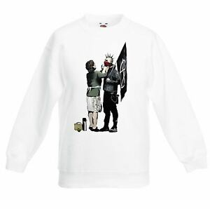 Banksy Punk Mum Graffiti Children's Toddler Kids Sweatshirt Jumper