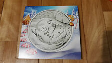 2015 Canada $20 Gingerbread Man Silver Coin (99.99% pure Silver)