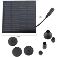 Outdoor Solar Powered Water Fountain Pump Kit For Pool Garden Aquarium Bird Bath