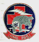 USMC Original vintage Helicopter Squadron patch  HML-268   1970'