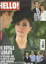 Hello magazine Kate Middleton Robert Pattinson FKA Twigs Tamara Beckwith Lulu
