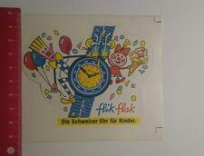 Aufkleber/Sticker: Flik Flak die Schweizer Uhr für Kinder (20011754)