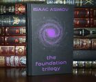 New Foundation Trilogy By Isaac Asimov Collectible Hardcover Deluxe
