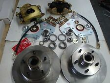 "1959 1960 1961 1962 CORVETTE FRONT DISC BRAKE COMPLETE KIT FITS ORIG 15"" WHEELS"