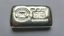 More details for the gold exchange tge 100g 99.9% pure silver bullion bar. made in birmingham
