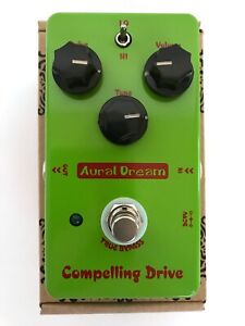 New Aural Dream Compelling Drive Analog Guitar Effect Pedal