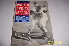 1964 Sporting News WORLD SERIES Records Dodgers SANDY KOUFAX 300+ pages ORIGINAL