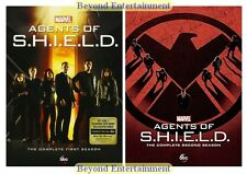 Brand New Agents Of Shield Complete Series Seasons 1 & 2 DVD Factory Sealed 1-2