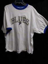 ST. LOUIS BLUES White T Shirt Size  XXL 2XL