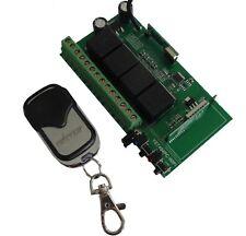 12V Wlan Wifi 2.4Ghz 433Mhz Funk Garagentor Empfänger paßt zu iPhone X 7 S8 S9
