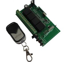 12V 4 Kanal Wlan Wifi 433Mhz Funk Empfänger Schalter Handsender paßt zu Alexa