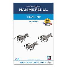 Hammermill Tidal MP Copy Paper 92 Brightness 20lb 11 x 17 White 500 Sheets/Ream