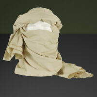 Chèche coton beige état neuf  / chech chèch shèch shech foulard écharpe