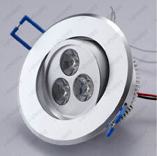 3W LED Ceiling Down Lamp Recessed Spot Light Fixture Cabinet Living Room Store