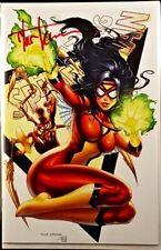AMAZING SPIDER-MAN #15 B KIRKHAM SIGNED VARIANT NM GWEN GHOST VENOM SPIDER-WOMAN