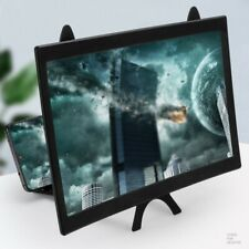 12 inch Mobile Phone Curved Screen Magnifier 3D HD Video Amplifier Stand HOT