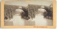 Pont Da Betharram Pyrenees Foto J.Andrieu Stereo Vintage Albumina