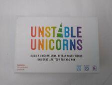 Unstable Unicorns Card Board Game
