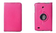 "FUNDA + PROTECTOR + STYLUS TABLET LG G PAD 8.0 8"" V490 - ROSA FUCSIA"
