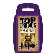 WM-TOP TRUMPS-Harry Potter e il prigioniero di Azkaban gioco di carte