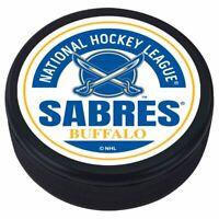 Buffalo Sabres Reverse Retro 3D Textured Block Souvenir Hockey Puck