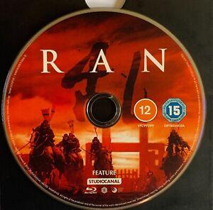 RAN (Akira Kurosawa,1985) 4K Restoration Bluray 2021 [DISC ONLY]