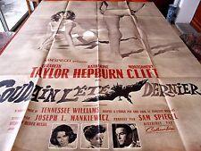 Affiche de cinéma 160x120 Soudain l'été dernier 1959