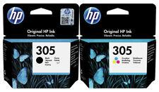 2x Original HP 305 Tinte Patronen DeskJet 2710 2720 2721 2722 2723 2724 2730 Set