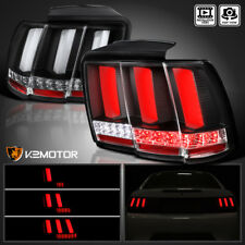 1999 2004 Ford Mustang Sequential Led Tail Lights Lamps Black Left Right Fits 2000