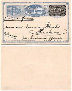 GUATAMALA (American Banknote Company) 1897 Unused Postal Card  *XRARE*