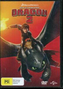 How To Train Your Dragon 2 DVD NEW Region 4