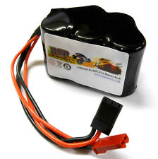 BSP RC Model 6v 1200mah Ni-MH Rechargeable Battery Pack Compatible JST JR Hump