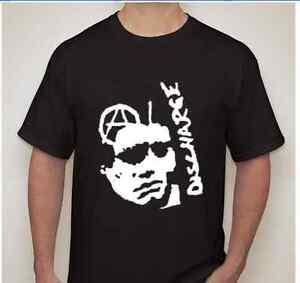 DISCHARGE Anarchy symbol Punk rock hardcore thrash band T shirt