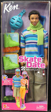 Barbie 56611 ln box 2002 African American Ken Skate Date