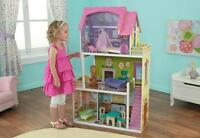 Kidkraft Florence Dollhouse, Wooden Doll house fits Barbie Sized Dolls