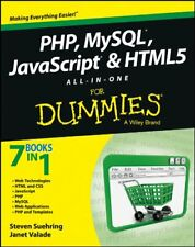 Php MySql JavaScript & Html5 All-in-One For Dummies by Suehring Steve|Valade…