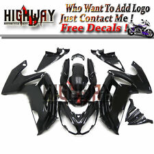 ABS Fairings For Kawasaki ER-6F Ninja 650 2012-2014 ABS Plastic Bodywork Black L