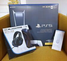 PS5 Digital Precintada + Sony Media Remote + Auriculares gaming BFX-60 + ticket