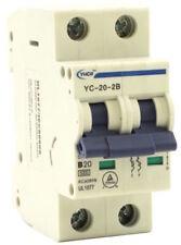 Solar DC Circuit Breaker with 100mm DIN Rail 2P {16//40//50}Amp 500VDC MCB