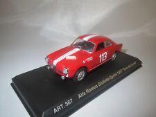 "DetailCars  Alfa Romeo Giulietta Sprint  (Tour de Corse) ""1957"" (rot) 1:43  OVP"