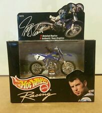 Hot Wheels Jeremy McGrath Racing Motorcycle NEW in Box 24219