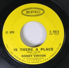 Pop 45 Bobby Vinton - Is There A Place / Blue Velvet On Epic